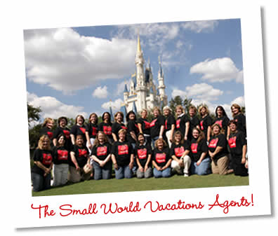 Meet the agents at Small World Vacations!