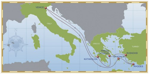 Disney Cruise Line Unveils New 2014 Itineraries And Ports  Small World Vacat
