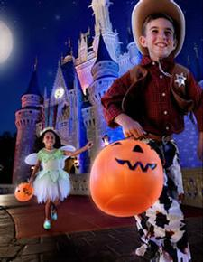 Trick or Treat in the Magic Kingdom at Mickey's Not So Scary Halloween Party