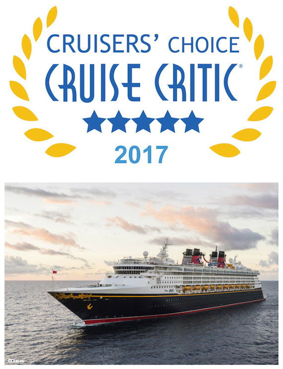 Disney Cruise Line Takes Top Awards In 2017 Critic Cruisers Choice