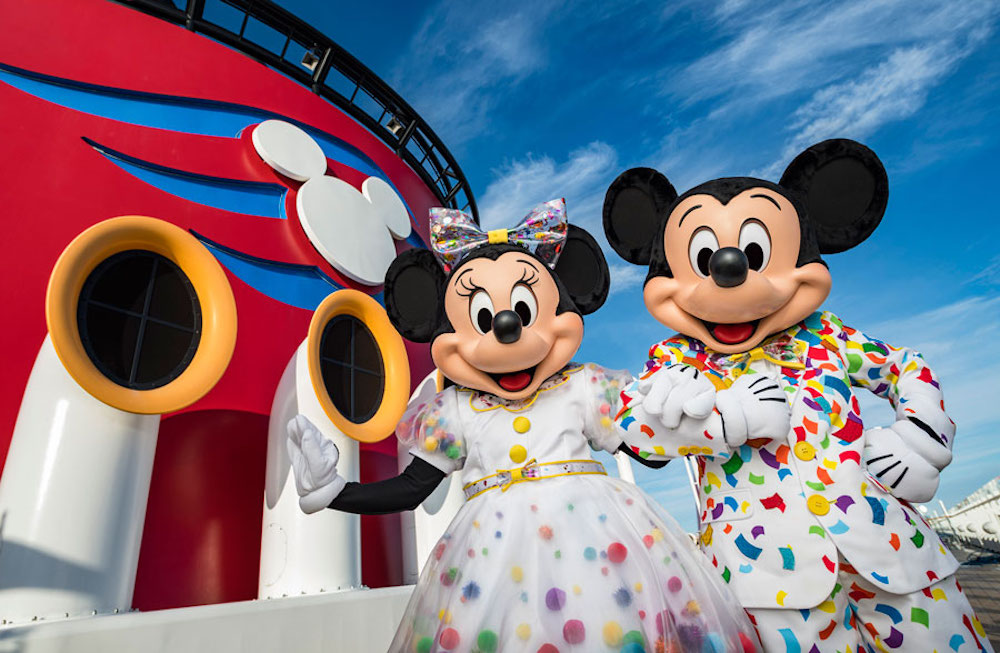 Celebrate 90 Years Of Mickey Mouse On Disney Cruise Line